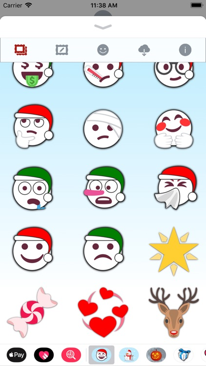 Christmas Emoji • Stickers screenshot-6
