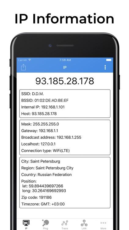 IP Tools: Network Scanner