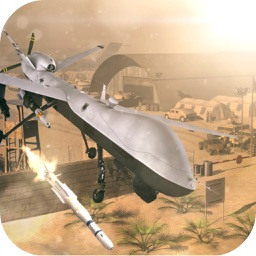 Modern Drone Air Attack Mission