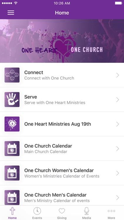 One Heart One Church