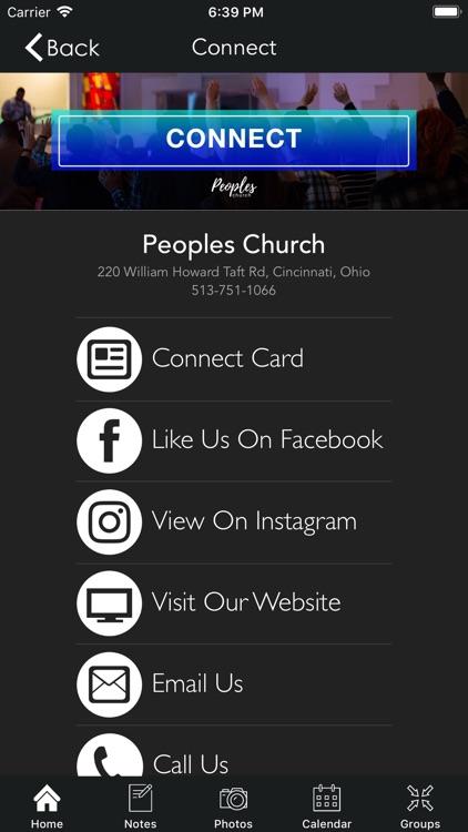Peoples Church | Cincinnati screenshot-4