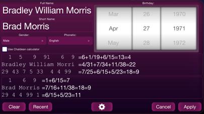 Numerology Calculator Hd review screenshots