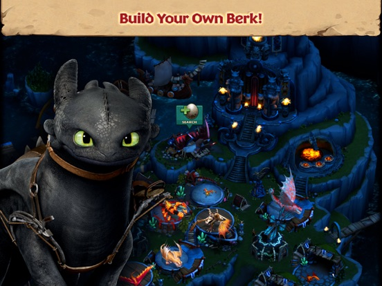 Dragons: Rise of Berk на iPad