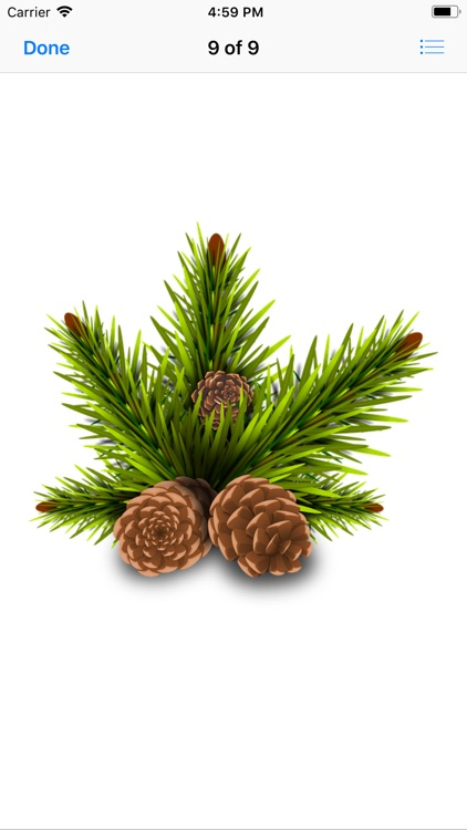 Pine Cone Stickers screenshot-9