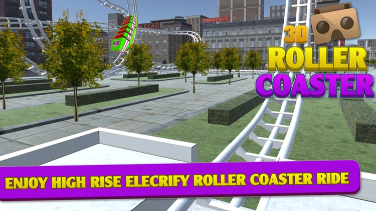 VR Roller Coaster-World Adventure