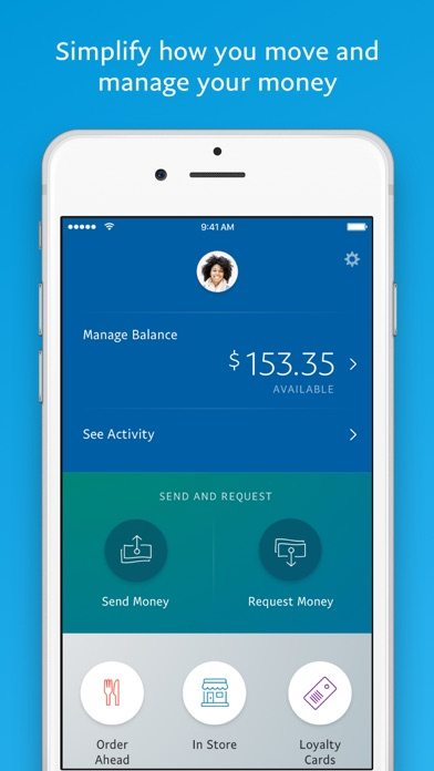 PayPal: Mobile Cash Screenshot on iOS
