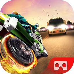 VR Crazy Traffic Bike Racer