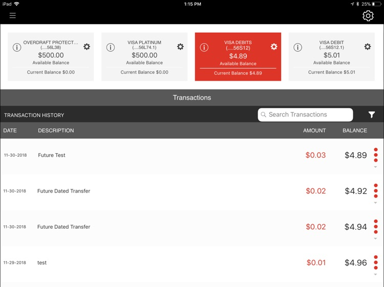 GHS Federal CU for iPad