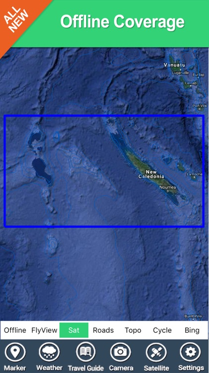 New Caledonia - GPS Map Navigator screenshot-4
