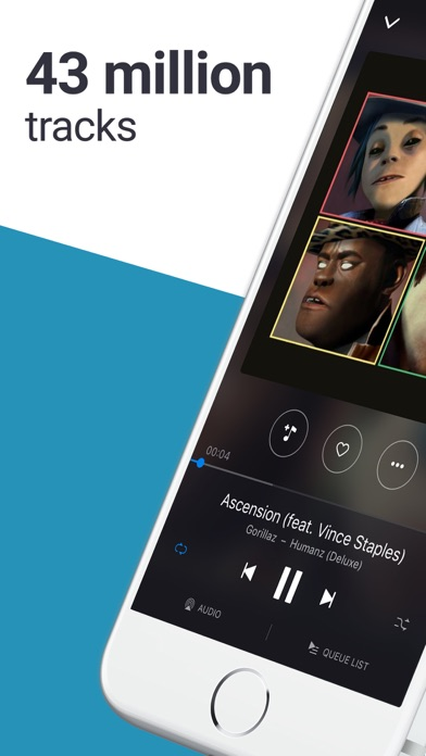 Deezer: Stream Music & Audio Screenshots