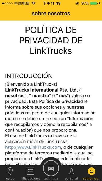 Linktrucks Shipper screenshot