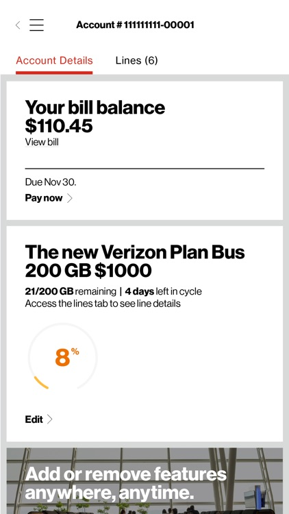 My Verizon For Business