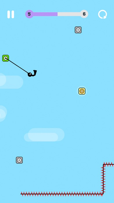 Screenshot of Swing Star App