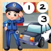 123 Count-ing & Learn-ing Number-s To Ten Kid-s Game-s with Police-Men