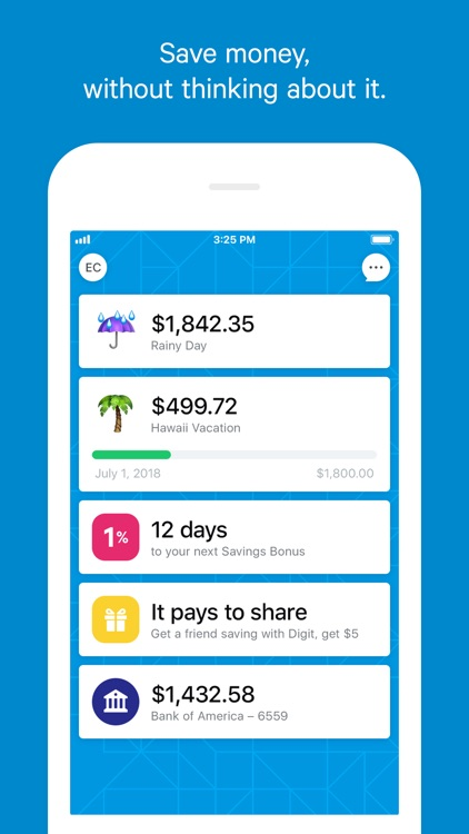 Digit: Smart Money Sidekick
