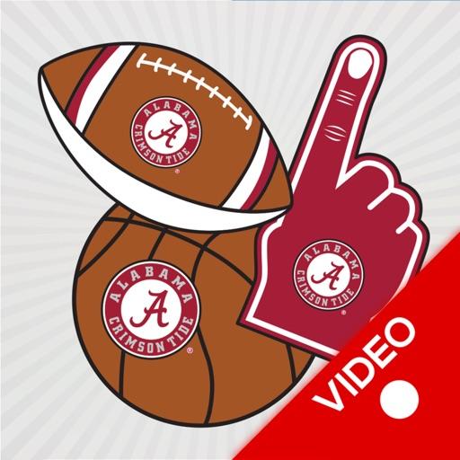 Alabama Animated Selfie Stikis