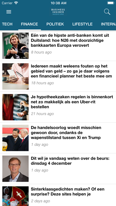 Business Insider NL screenshot three