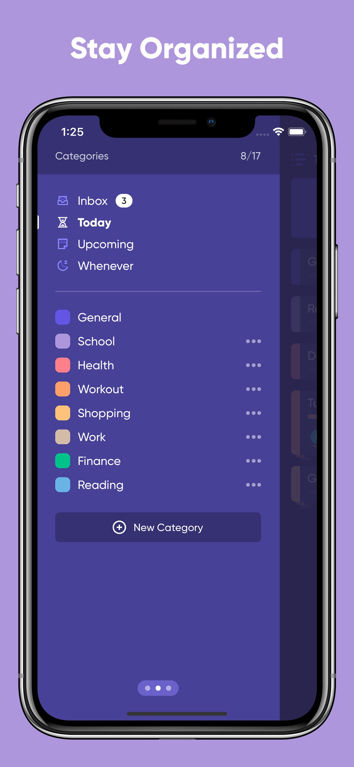 Screenshot do app Taskful: The Smart To-Do List