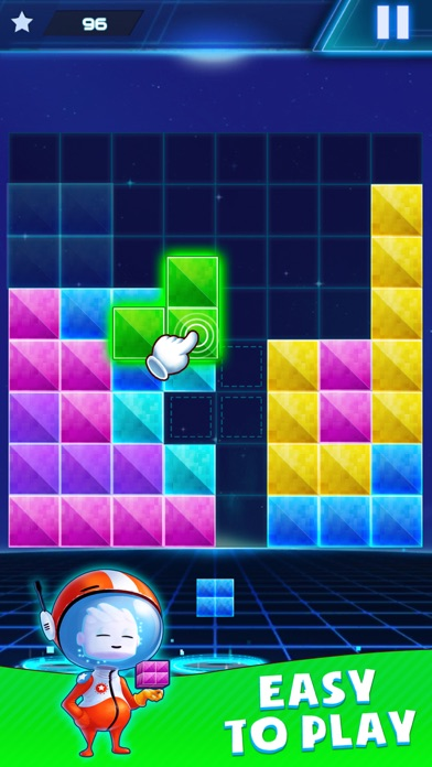 Glow Block Puzzle - Rotate! App Data & Review - Games - Apps