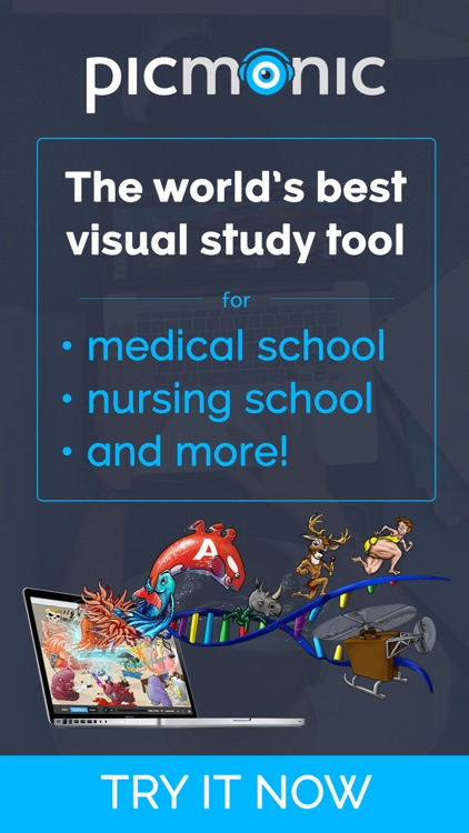 Picmonic: Medical & Nursing Student Study Tool