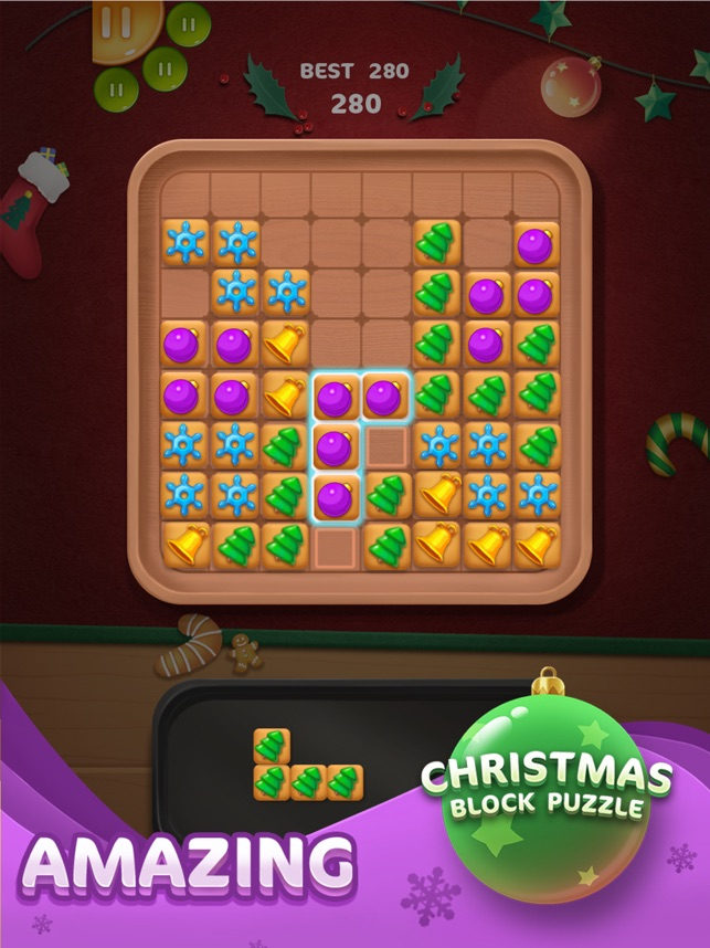 Christmas Block Puzzle on the App
