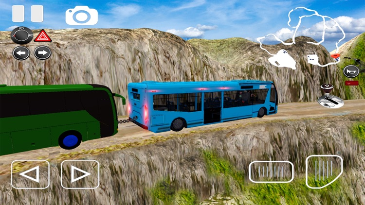 Off-road Bus Driving Simulator screenshot-4