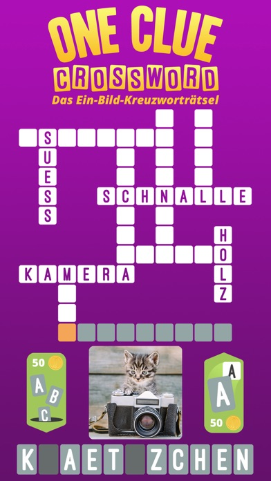 One Clue CrosswordScreenshot von 1