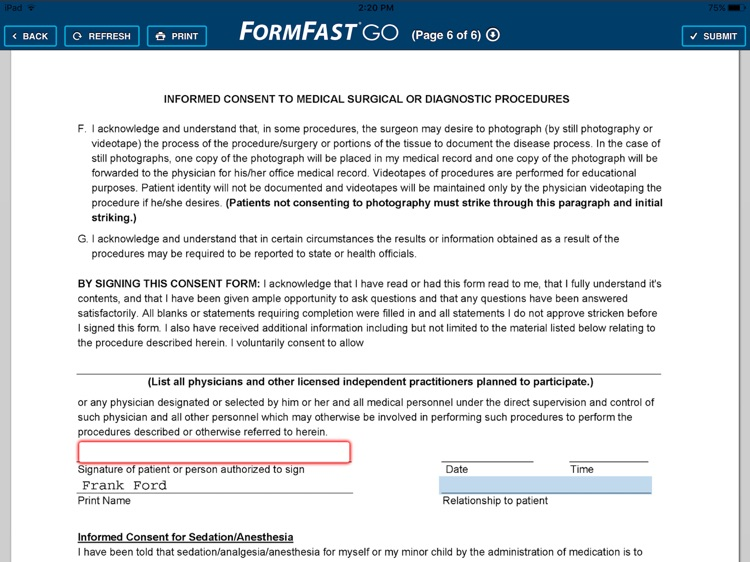FormFast GO screenshot-1