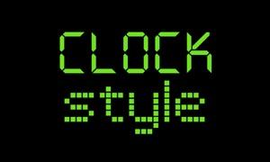 Clock Style
