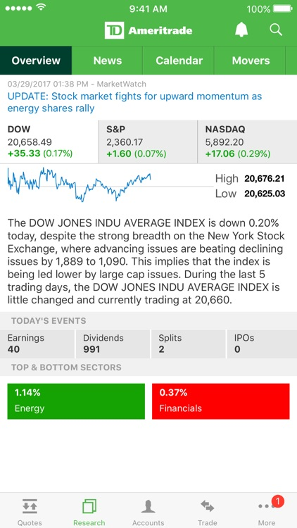 TD Ameritrade Mobile screenshot-2