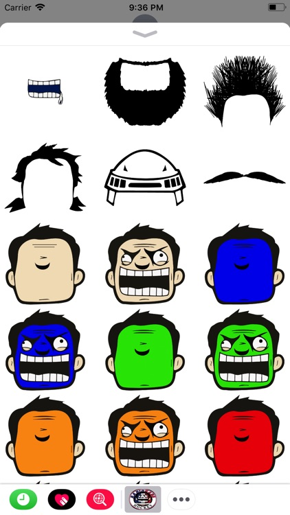 Rabid Habs Stickers screenshot-4