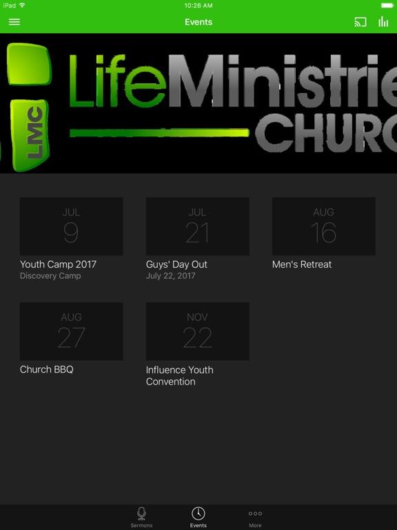 LIFE MINISTRIES CHURCH - Texas screenshot 5