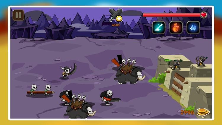Monster Warrior Defence