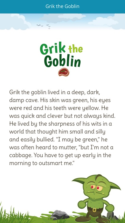 Grik the Goblin by Pearson Publishing Ltd