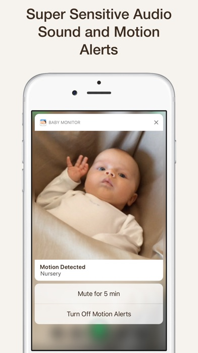 Screenshot for Cloud Baby Monitor in South Africa App Store
