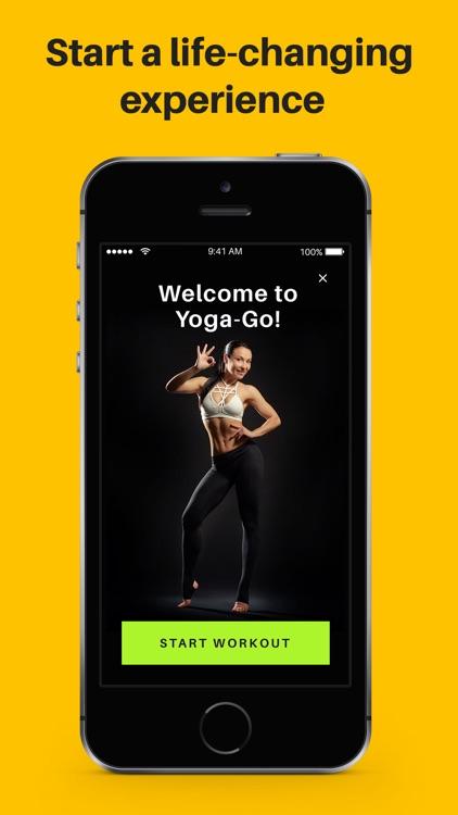 Yoga-Go: Weight Loss Workouts screenshot-4