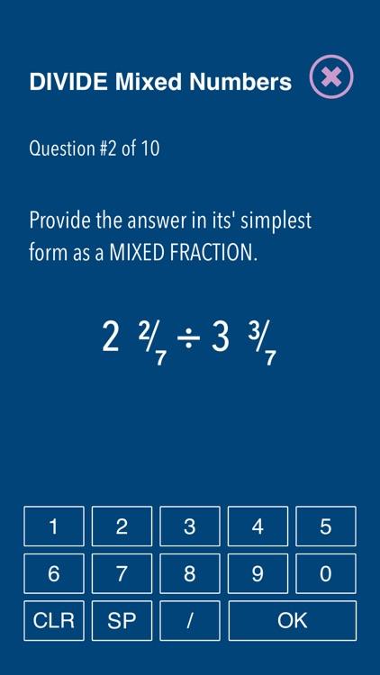 Practice Fraction puzzels screenshot-8