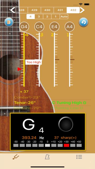 UkuleleTuner - Tuner for Uke screenshot two