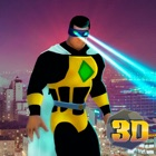 Flying Eye Laser Hero City Sim icon