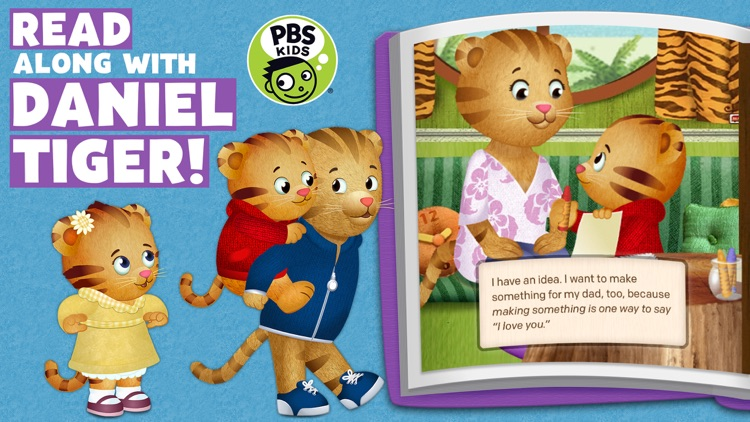 Daniel Tiger's Storybooks screenshot-0