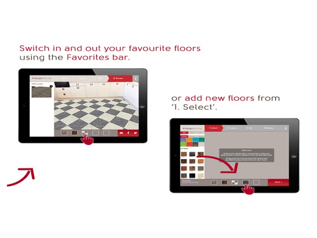 Designflooring Screenshot
