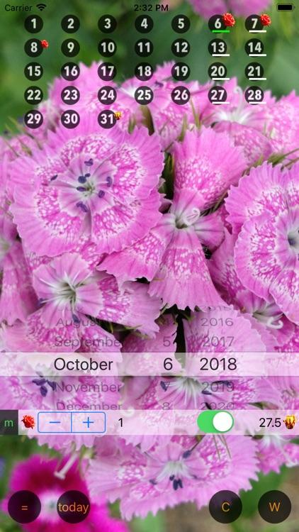 Only For Women - Calendar W screenshot-3