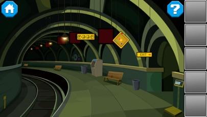 逃出阴森地铁站:密室逃脱解密游戏