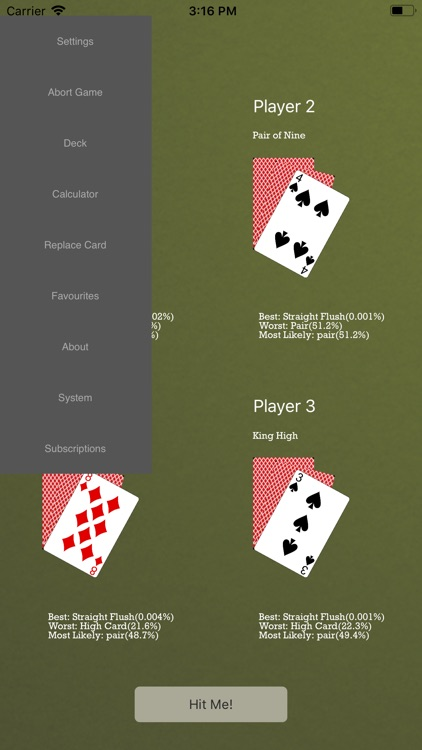 Odds4Poker - 7-Card Stud screenshot-7