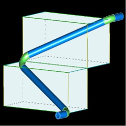 Pipe offset calculation