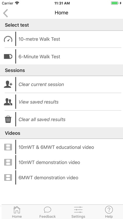 A 6 Minute Walk Test Length Counter And Algorithms For Comparing Test Performance To Normative And Community Ambulation Values
