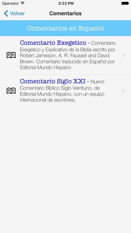 Biblia y Comentario Siglo XXI screenshot-4