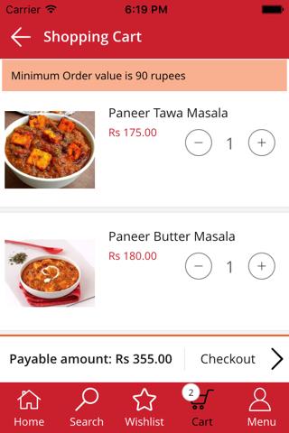 Oho Food App - náhled