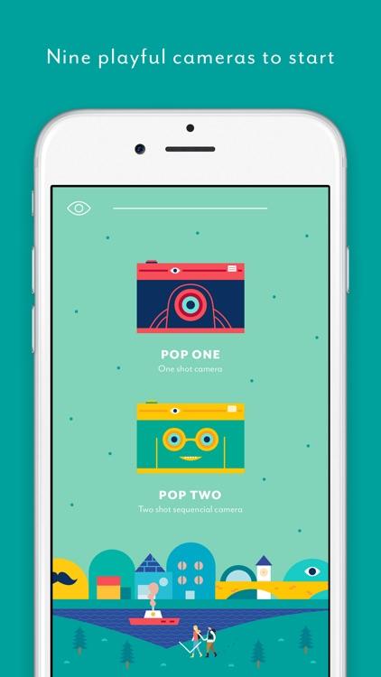 Pop Camera - Enjoy pop life !