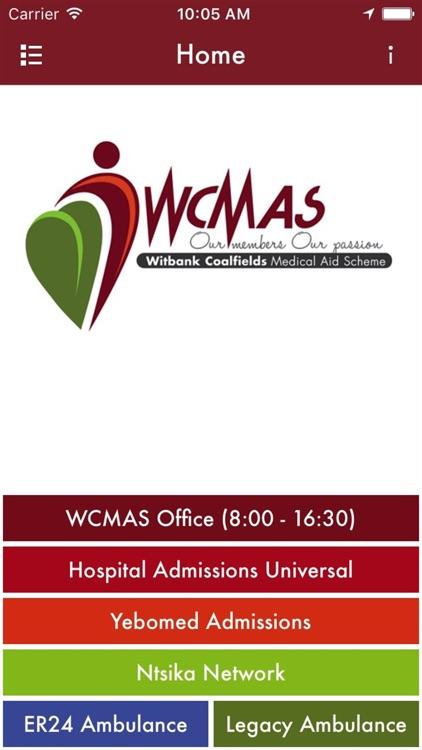 WCMAS App screenshot-3